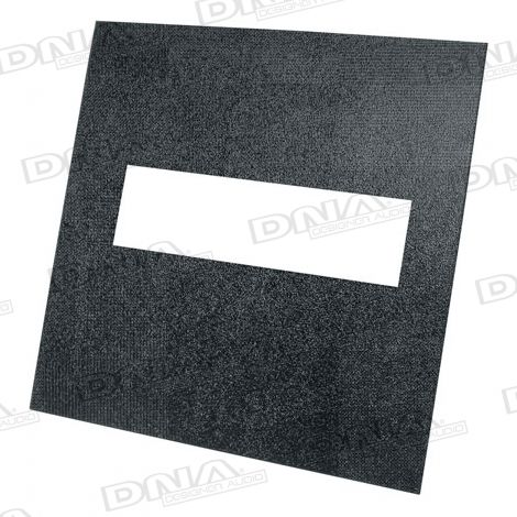 348mm x 348mm ABS Plastic Sheet With Single DIN Cut Out