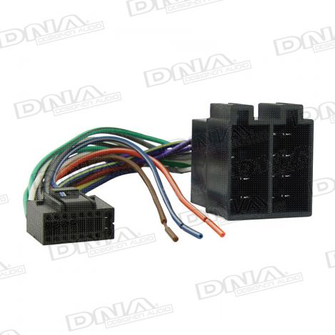 ISO Harness To Suit JVC Square 16 Pin