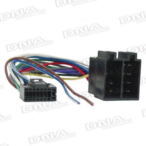 ISO Harness To Suit Kenwood Round 16 Pin