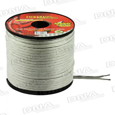 18 Gauge Tinned Marine Speaker Cable - 100 Metres