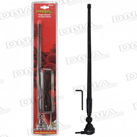 AM/FM Flexible Antenna - Black