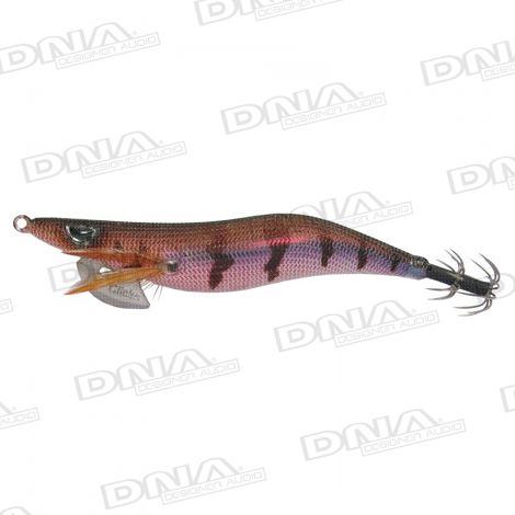 Clicks 3.0 Size Squid Lure Colour 011 - Brown / Red