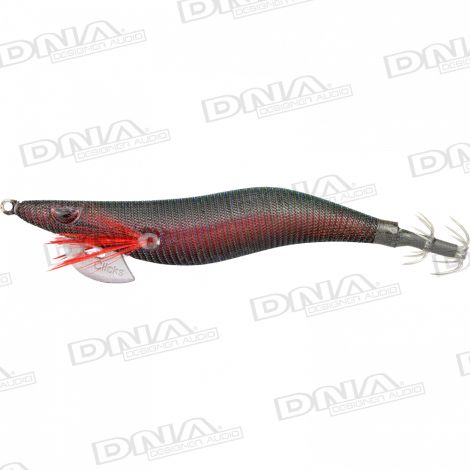 Clicks 3.0 Size Squid Lure Colour 094 - Black Opal