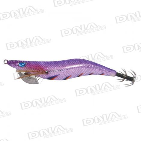 Clicks 3.0D Size Squid Lure Colour 051 - Flash Purple / Wild Berry