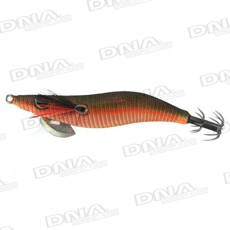 Clicks 3.5 Size Squid Lure Colour S4 - Satsuma Tradition Olive Akakage