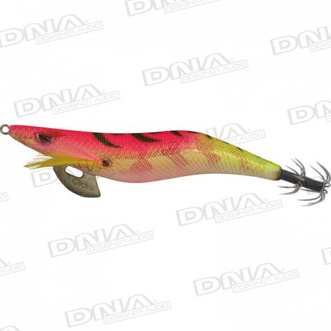 Clicks 3.5 Size Squid Lure Colour SH03 -  Pink / Gold