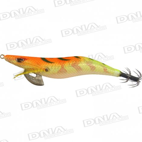 Clicks 3.5 Size Squid Lure Colour SH04 - Orange / Gold
