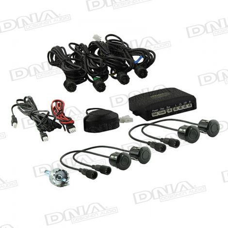 4 x 22mm Sensor Parking Kit With Buzzer