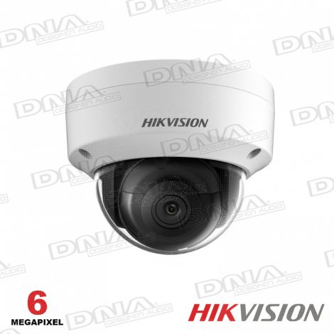 6MP Outdoor Dome Camera, H.265+, 30m IR, 120dB WDR, IP67, IK10, 2.8mm