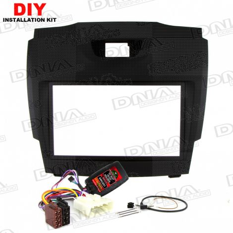Kit To Suit Isuzu & Holden - Black