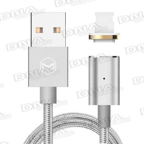 Magnetic Connector Lightning To USB Lead - 1 Metre