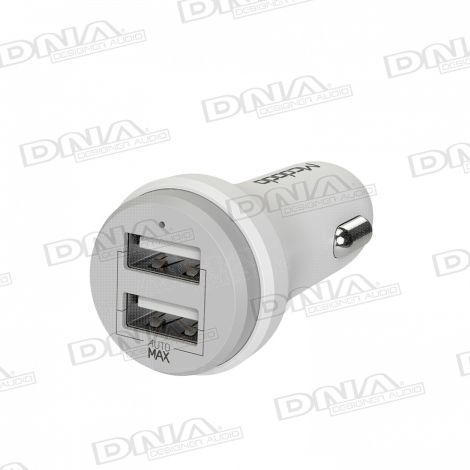 Auto Switching Dual USB 2.4A Car Charger