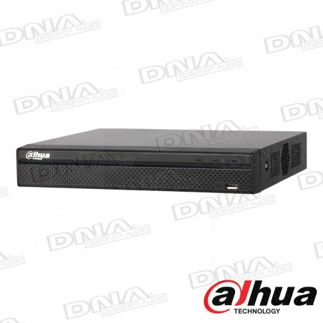8 Channel Compact 1U 8PoE 4K&H.265 Lite Network Video Recorder
