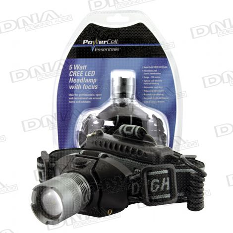 5 Watt Cree LED Headlamp light with focus