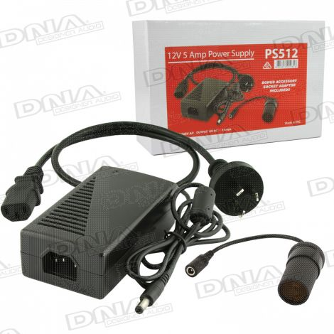 12VDC 5 Amp Power Supply