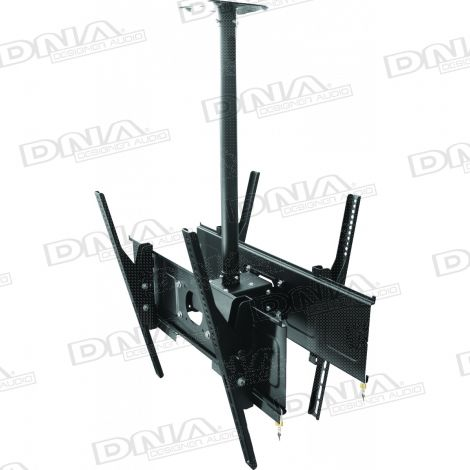 Double LCD Ceiling Mount - 36 - 65 Inch