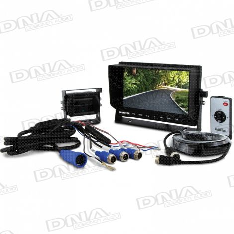 7 Inch Analog High Definition (AHD) LCD Rearview Screen & CMOS Camera Pack