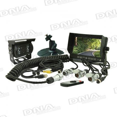 5 Inch LCD Rearview Screen & CCD Camera Pack
