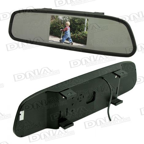 4.3 Inch LCD Rearview Mirror