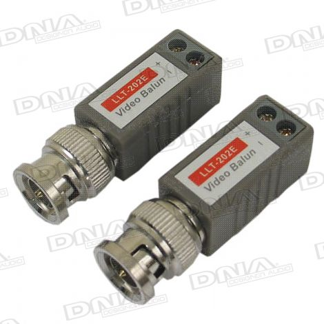 Mini Passive Video Balun - 1 Pair
