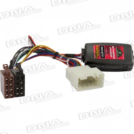 Steering Wheel Controller To Suit Mitsubishi & Peugeot Vehicles