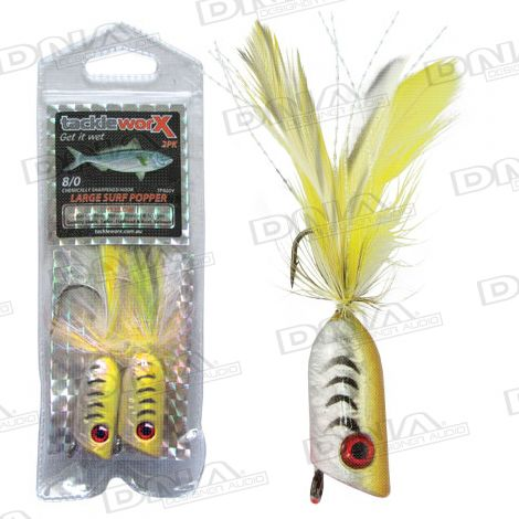 Large Surf Popper 8/0 - Yellow