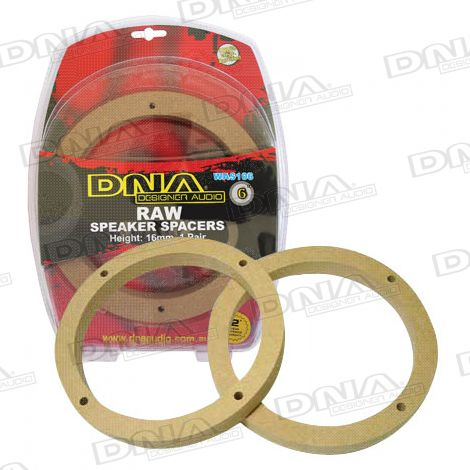6in MDF Speaker Spacers - 1 Pair