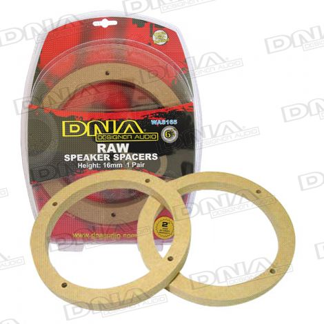 6.5in MDF Speaker Spacers - 1 Pair