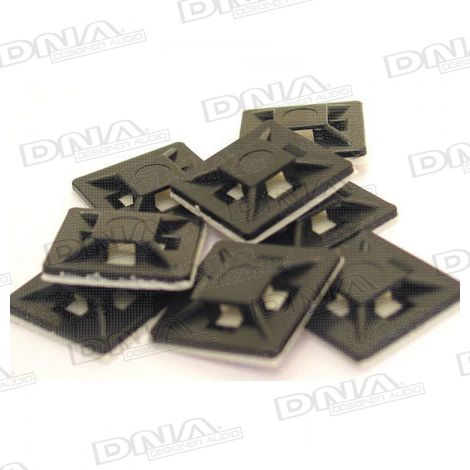 Adhesive Cable Tie Base 100 Pack