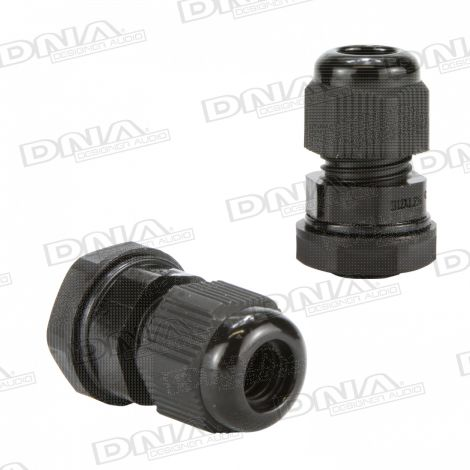 12mm Nylon Cable Gland - 10 Pack