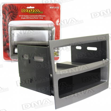 Single DIN Fascia To Suit Holden Commodore VY-VZ Grey