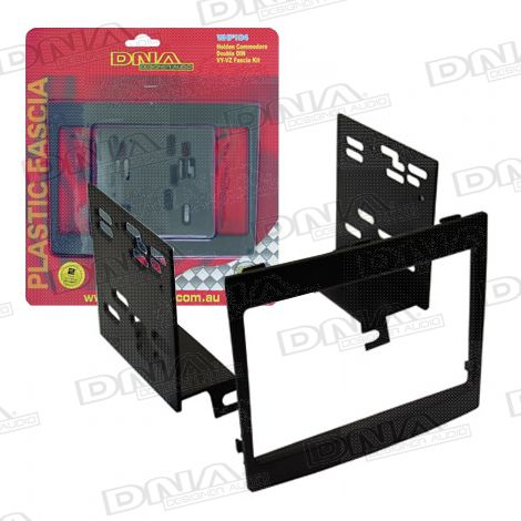 Double Din Fascia To Suit Holden Commodore VY-VZ Black