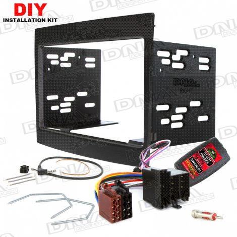 Kit To Suit Holden Commodore VY-VZ Double DIN Black