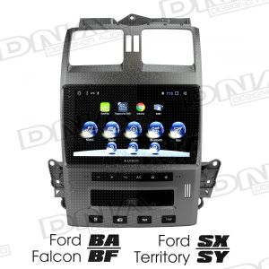 9.6 Inch Screen & Head Unit To Suit Ford BA~BF And Ford Territory SX~SY - Grey
