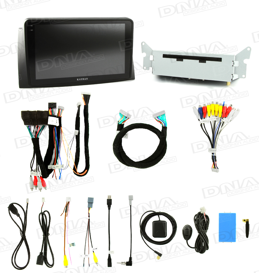 Android DVD Head Unit To Suit Ford FG Series 1